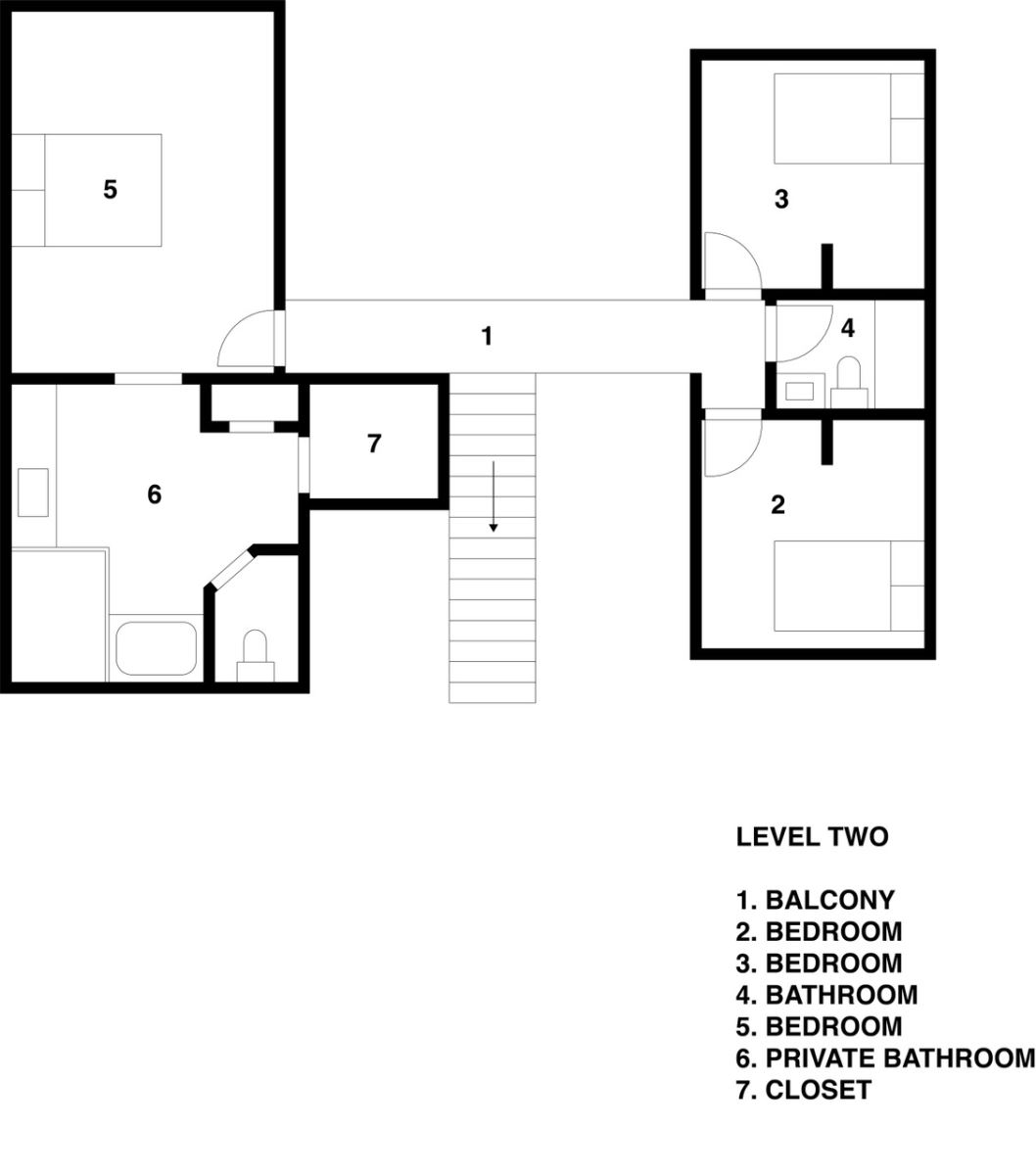 Floor Plan for Great Big, Beautiful Five Bedroom Home with Private Pool